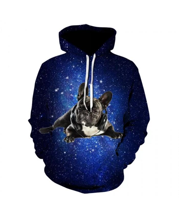 2021 hot man animal print flower hoodie fashion high quality 3D star dog series long sleeve thin hoodie