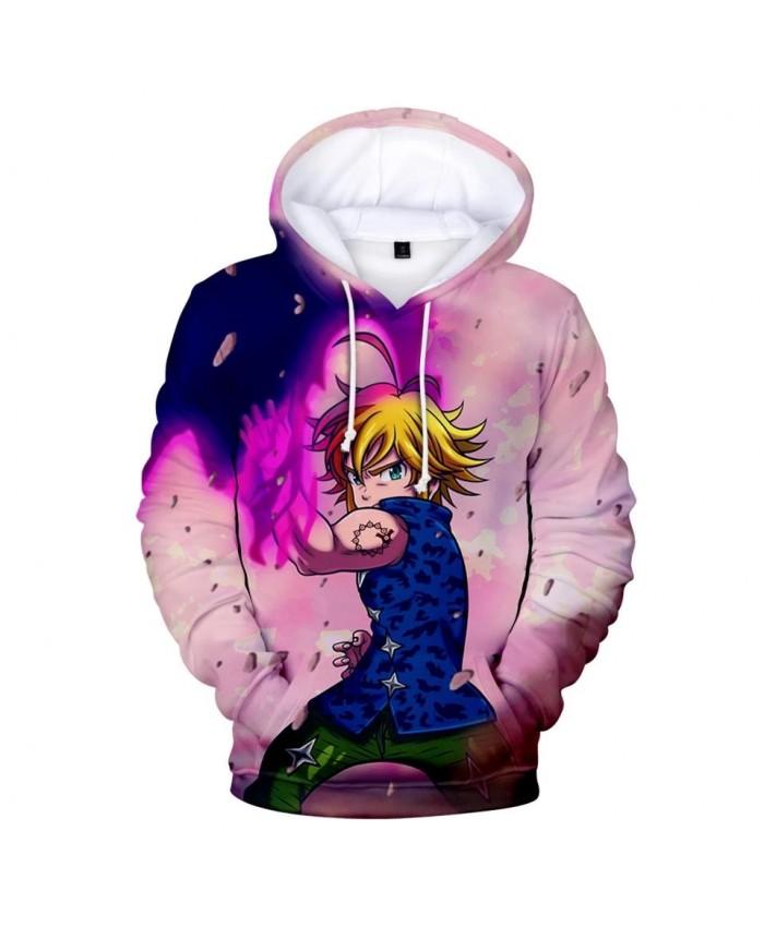 Hot Comic The Seven Deadly Sins 3D Hoodies Men Women Sweatshirts New Fashion Autumn Kids Hoodie 3D suitable boys girls pullovers
