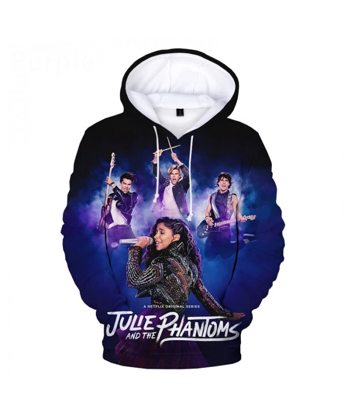 Julie and the Phantoms Movies 3D Hoodies Men Women Casual Pullover Hooded Sweatshirts 2XS-5XL Oversized Print Casual Hoodie