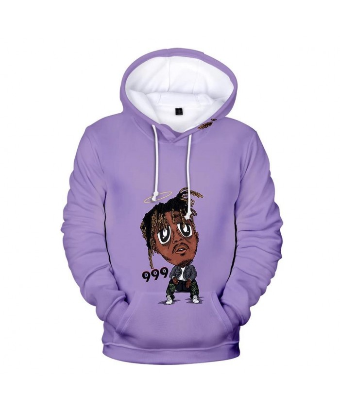 3D print singer Juice WRLD Hoodies Men Women Casual Sweatshirts Hip Hop Kids pullovers 3D Juice WRLD boys girls blue clothes