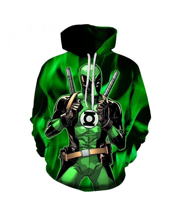20 style Newest hoodies Mens Womens Sweatshirt Funny Deadpool 3d Print Hoodie Harajuku style casual Hoody tops Large size