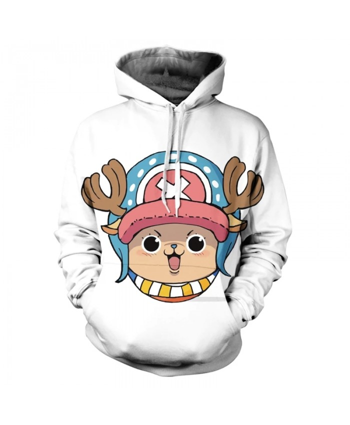 Spring And Autumn New Men's And Women's Hoodies Children 3d PrintingCuteCartoon Anime OnePiece  Hip Hop Top