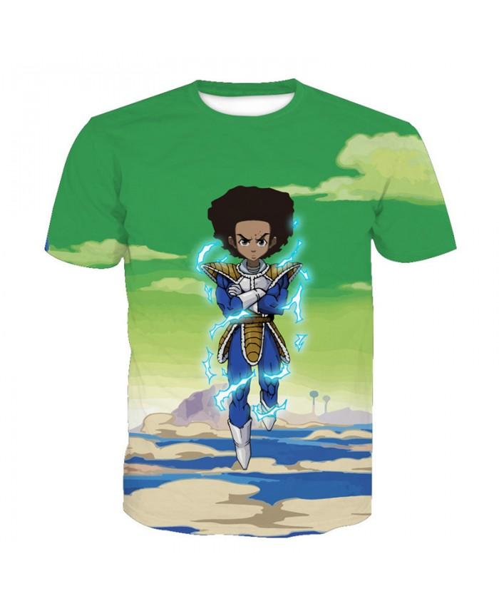 2021 Dragon Ball Z t-shirt Men Anime tshirt 3D Printed funny t shirts Comic Tops 6xl Camiseta harajuku Tee Boy Pokemon Costume Homme C