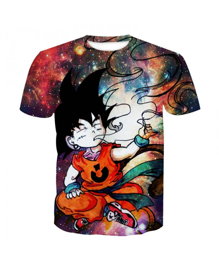 2021 Dragon Ball Z t-shirt Men Anime tshirt 3D Printed funny t shirts Comic Tops 6xl Camiseta harajuku Tee Boy Pokemon Costume Homme L