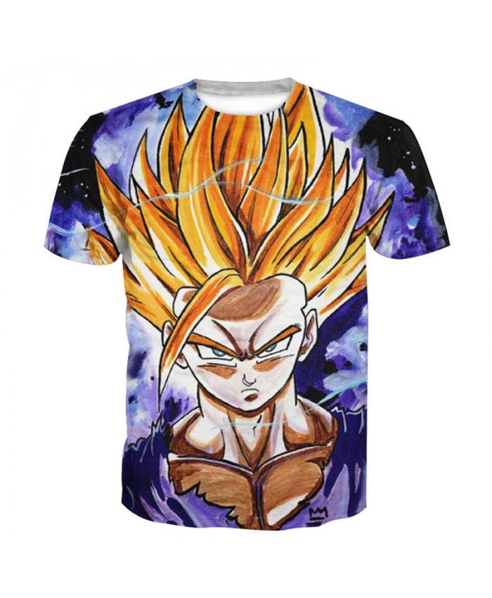 2021 Dragon Ball Z t-shirt Men Anime tshirt 3D Printed funny t shirts Comic Tops 6xl Camiseta harajuku Tee Boy Pokemon Costume Homme M