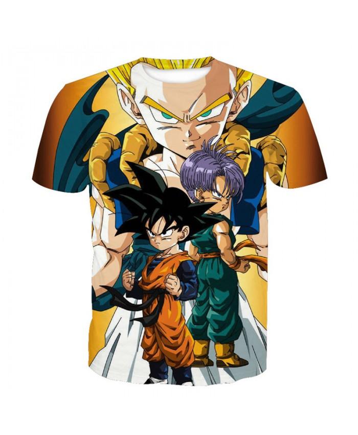 2019 Dragon Ball Z t-shirt Men Anime tshirt 3D Printed funny t shirts Comic Tops 6xl Camiseta harajuku Tee Boy Pokemon Costume Homme P