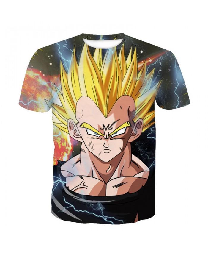 2018 Dragon Ball Z t-shirt Men Anime tshirt 3D Printed funny t shirts Comic Tops 6xl Camiseta harajuku Tee Boy Pokemon Costume Homme T