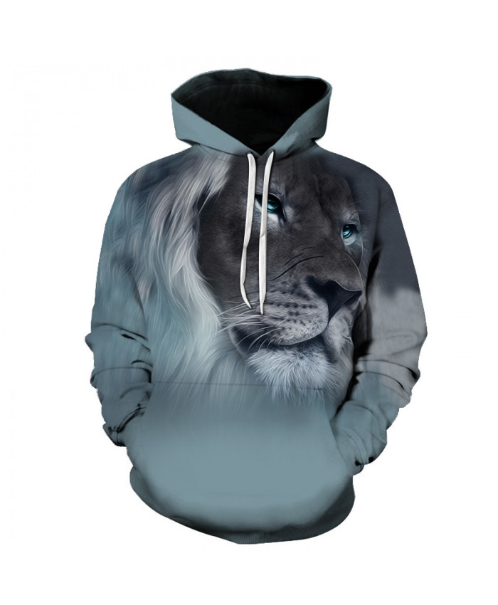 2018 New Fashion 3D Animal Hoodies Print Men Women Harajuku Sweatshirt Casual Graphics Pullover Hoody S 6XL Plus Size