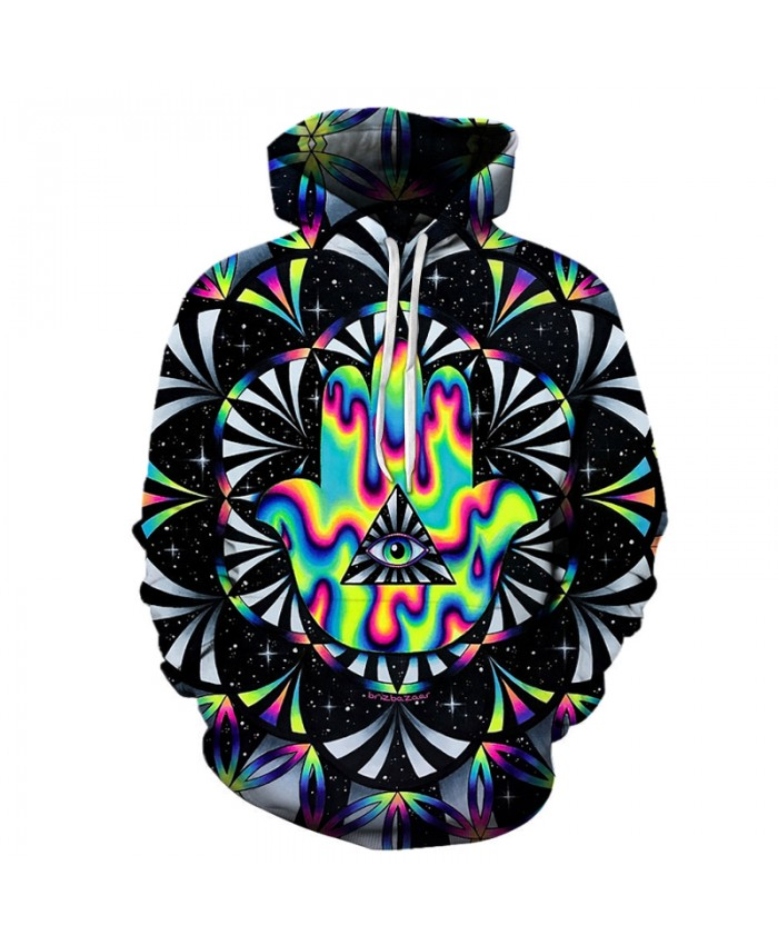 2018 New Fashion 3D Print Hoodie Sweatshirt Mens Hoodies Pullover