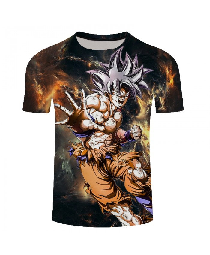 2019 Newest Summer Classic Anime Dragon Ball F 3D T-Shirt Men Goku Plus Size Fashion T Shirt Funny Hip Hop Streetwear Tee Shirt