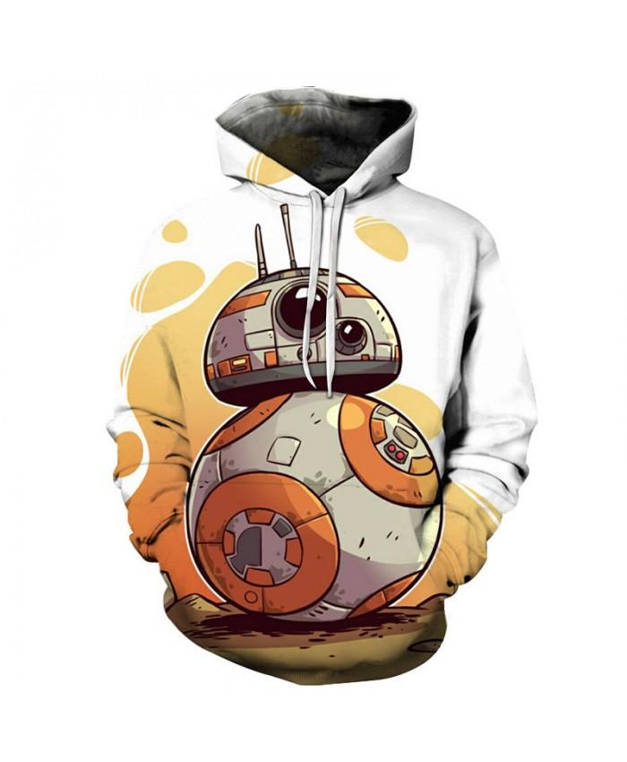 2018 STAR WARS Cartoon Printed Hoodies Men Hoodies Women Popular Sweatshirts Brand Pullover New Tracksuits Brand Drop Ship
