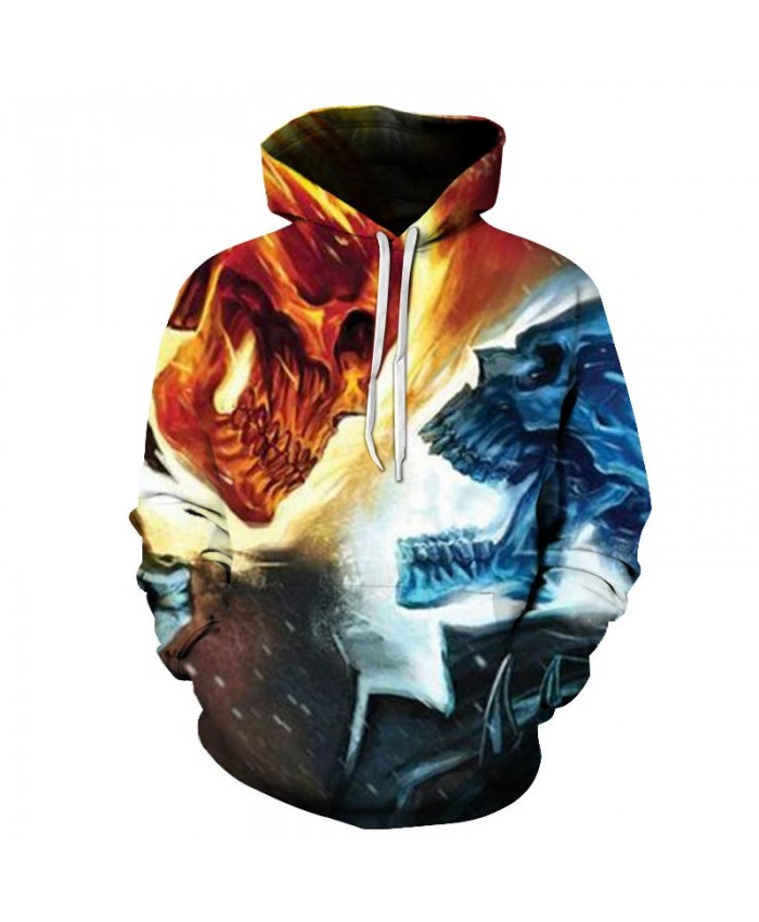 2019 Skull Soul chariot 3D Hoodies Men Women Sweatshirts Hooded Pullover Tracksuits Boy Coats Fashion Outwear jacket The big size D