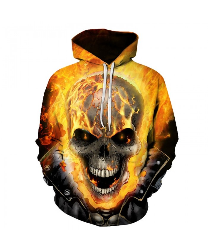 2019 Skull Soul chariot 3D Hoodies Men Women Sweatshirts Hooded Pullover Tracksuits Boy Coats Fashion Outwear jacket The big size F