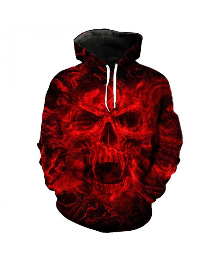 2021 new Hoodies man 3d skull Print Animal Wolf Men's Hoody Sweatshirt Hip Hop Hoodies Pullover Tops hoody