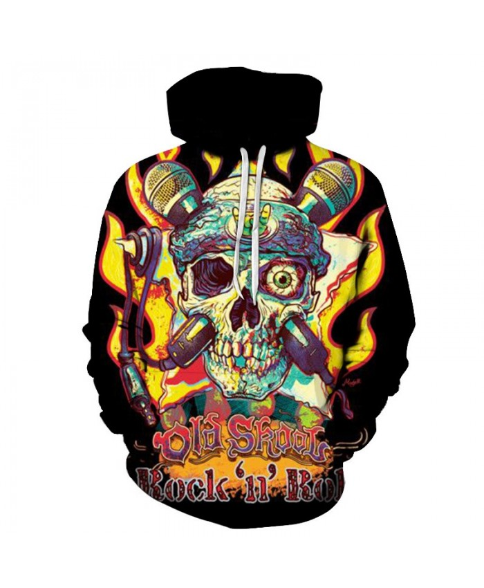 2019 new hoodies man Skull soldiers printed Hoodies Sweatshirts Men Women 3D Pullover Funny Hooded Fashion tops