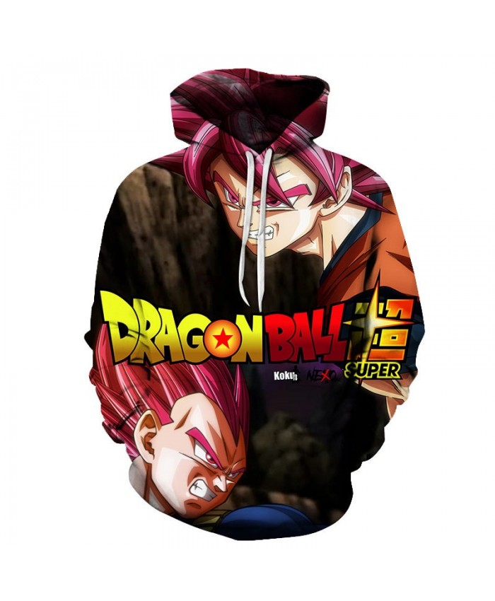 2019 3D Dragon Ball Sharp Nose Men Pullover Sweatshirt Pullover Hoodie Casual Hoodies Fashion Men Tracksuits Hoodie