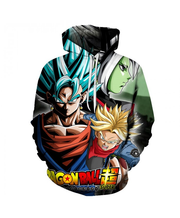 2019 3D Print Dragon Ball Super Men Pullover Sweatshirt Pullover Hoodie Casual Hoodies Fashion Men Tracksuits Hoodie