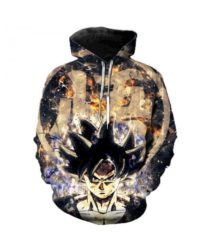 2019 Anime Dragon Ball Super 3D Print Hoodies Men Women Spring Outerwear Harajuku 3D Kid Goku Hoodie Sweatshirts Men Puls Size G