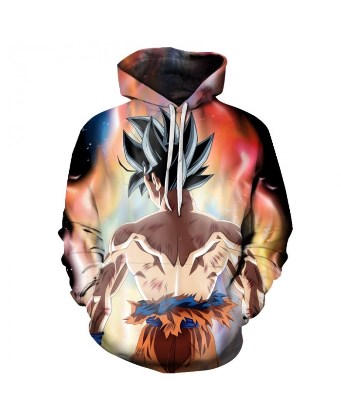 2019 Dragon Ball Hoodies Men Women 3D Hoodie Goku Print Hoodie Anime Fashion Casual Tracksuits Hooded Pullover