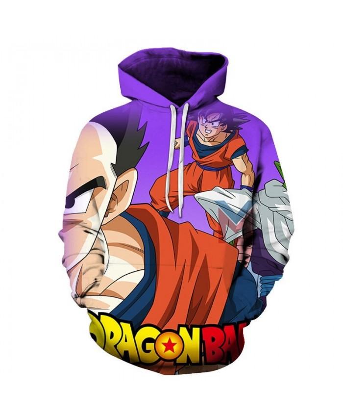 2019 Dragon Ball Very Angry 3D Hoodies Mens Pullover Sweatshirt Brand Cosplay Pullover Hoodie Casual Hoodies Men