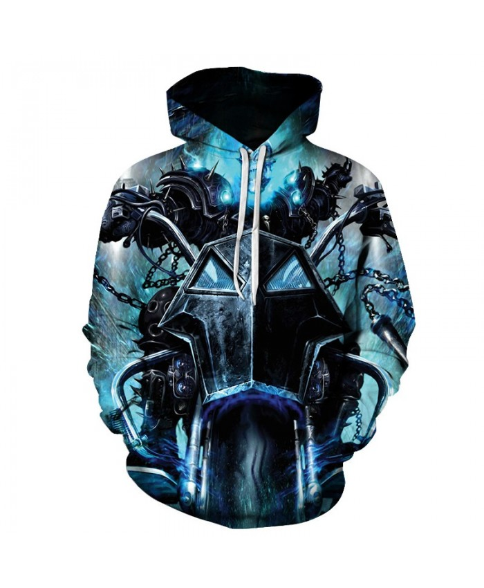 2021 Funny Hoodies 3D Flame skull print Hoodies Men Women Sweatshirts Unisex Tracksuits Fashion Casual Streetwear Hooded Pullover