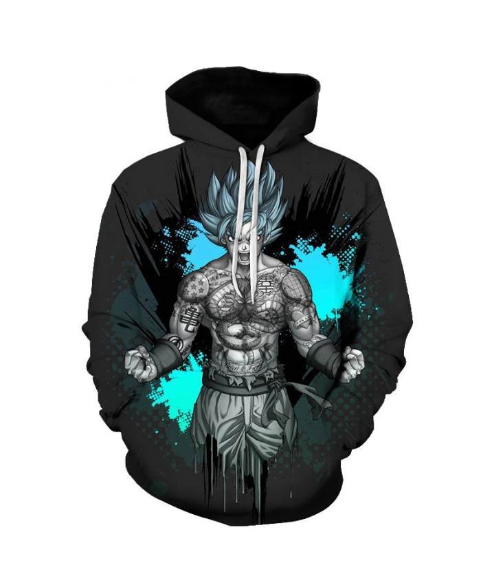 2019 Hot Sale Dragon Ball Z Hoodie Sweatshirt 3D Printed Goku Casual Hoodies Men Women Harajuku Sports Long Sleeve Hoodies