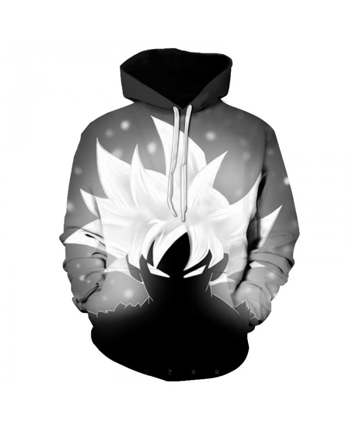 2019 Hot Sale Dragon Ball Z Hoodie Sweatshirt 3D Printed Goku Casual Hoodies Men Women Harajuku Sports Long Sleeve Hoodies C