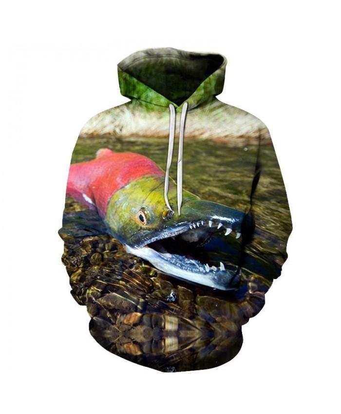 2019 New 3D Printed Red Crocodile Pullover Sweatshirt Clothing for Men Custom Pullover Hoodie Casual Hoodies Men