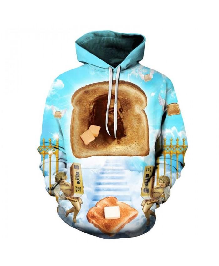 2019 New Bread Men hoodies Pullover Sportsuit Hoodie Pullover Hoodie Sweatshirt Fashion Men