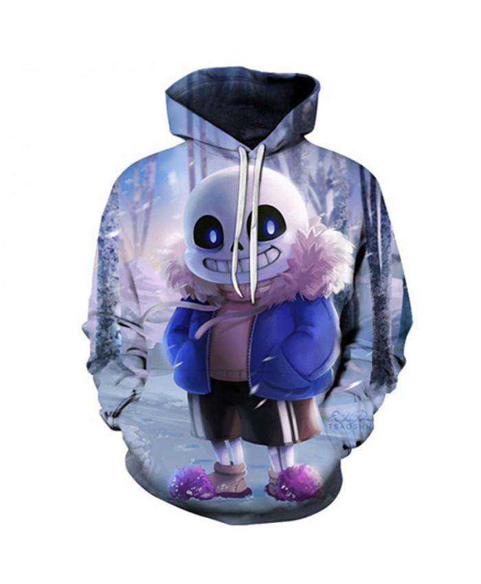 2019 New Hairy Shoes Undertale 3D Print Mens Pullover Sweatshirt Fashion Casual Men Hoodies Custom Pullover Hoodie