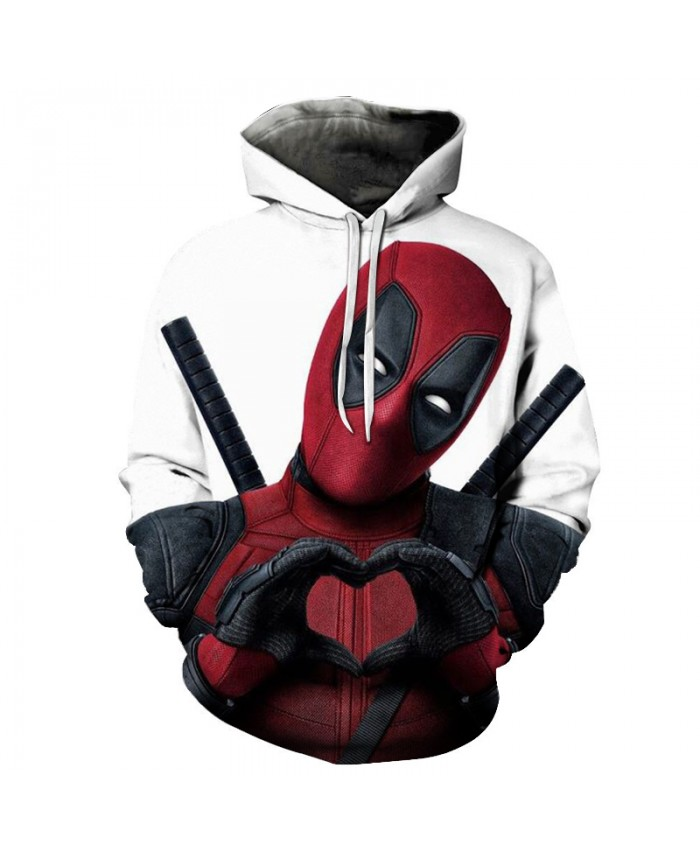 2021 New design Funny Deadpool Hot Fashion Men/Women 3d Sweatshirts Deadpool 2 Print Hooded Hoodies Thin Unisex Pullovers Tops