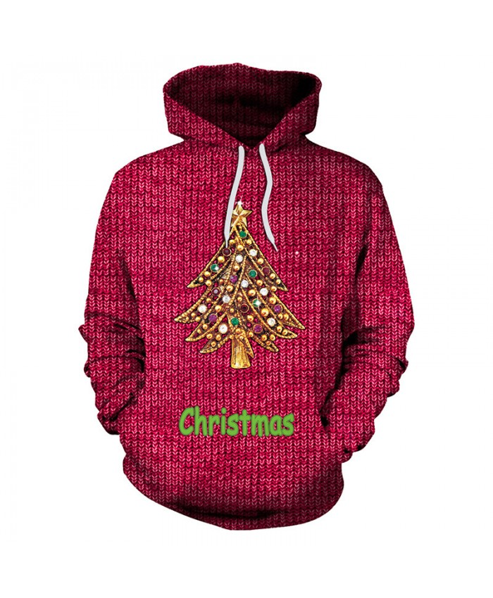 2021 Ugly Christmas Sweater Unisex Men Women Vacation Santa Elf Pullover Funny Womens Men Sweaters Tops Autumn Winter Clothing