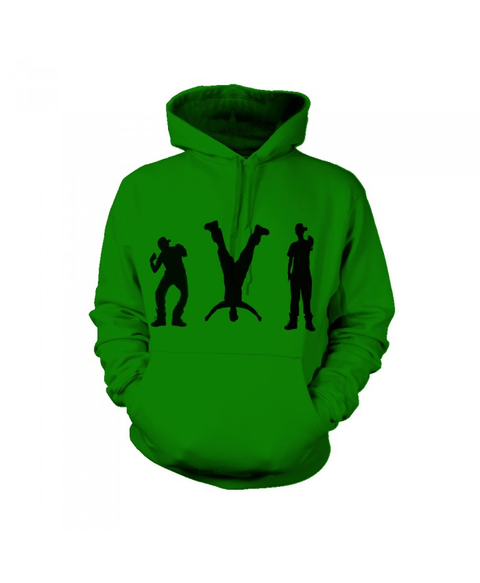 2021 Fashion Hip Hop Dance Costumes Kids Men Women Green Jacket with Hip Hop Dance Costume Belt Sweatshirt Hoodies