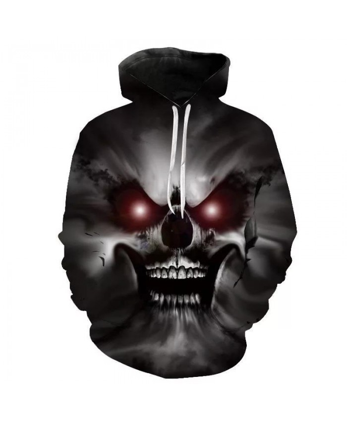 New 2021 Custom Unisex Sweatshirt 3D Skull Printed Pullovers Hoodies Dropship Asian Size SSX-10XL Boys Girls Child Men Women