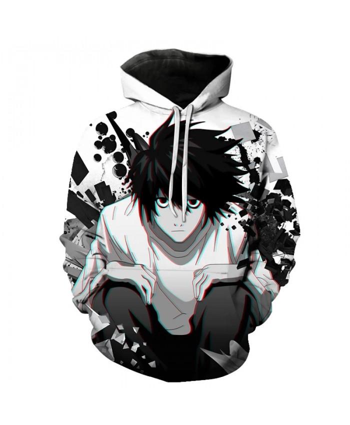 Spring and summer anime death note hoodies men women super cool streetwear Japanese Harajuku hoodies sweatshirts