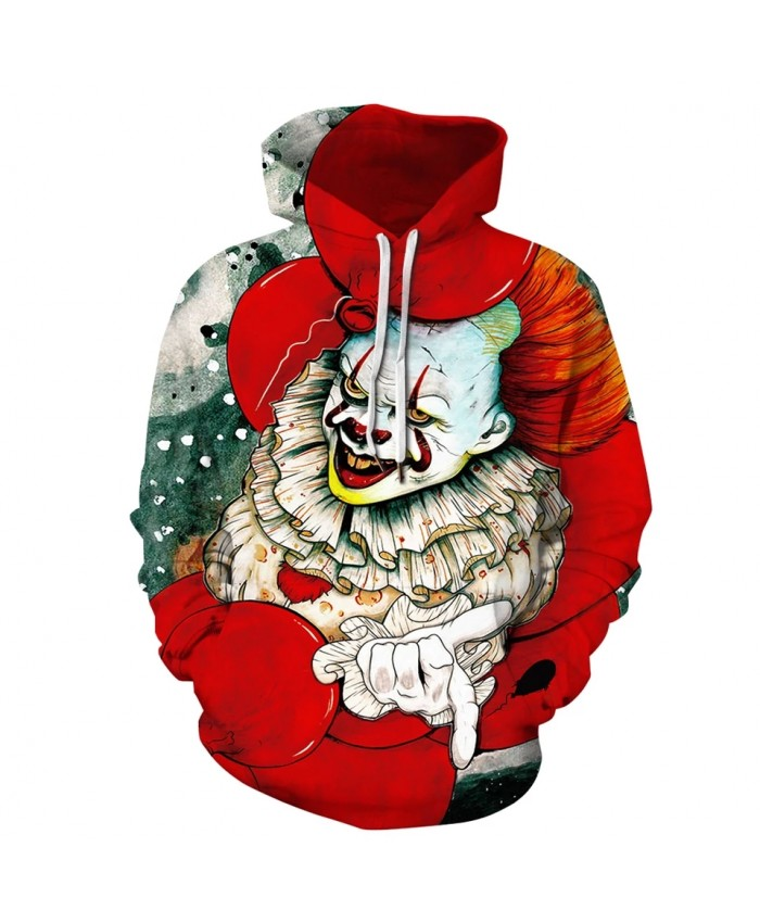 2021 New Fashion Hoodies Joker 3D Printed Hooded Sweatshirts Men Women Casual Streetwear Sudadera Hombre Plus Size S-3XL