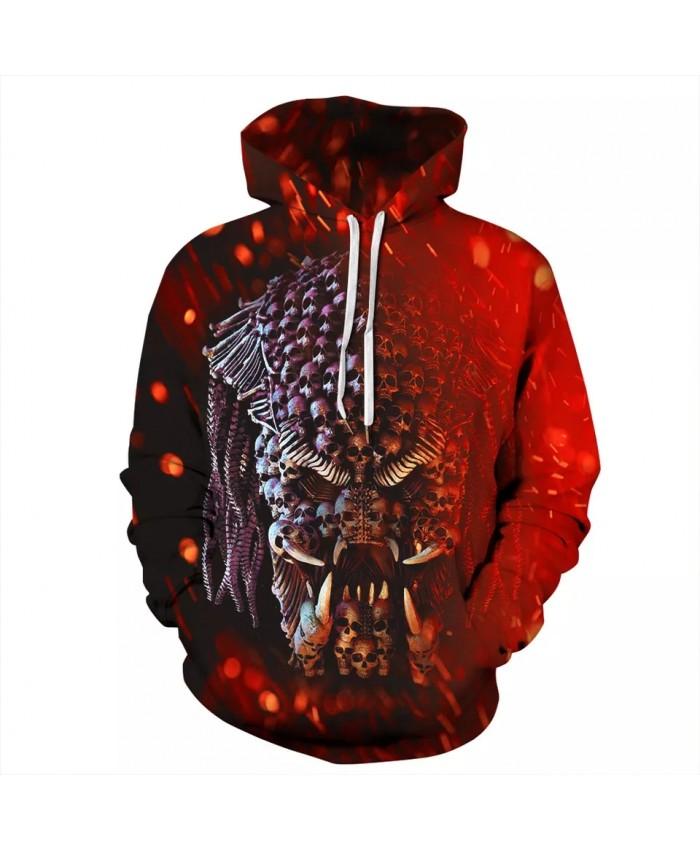New 3D Hoodie Streetwear Hip Hop Hoody Sweatshirts Harajuku Sweat Homme Hooded Pullover