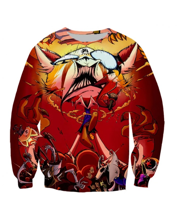Death Metal Karaoke Kala Aggretsuko Aggressive Fashion Long Sleeves 3D Print  Hoodies Sweatshirts Jacket Men women top