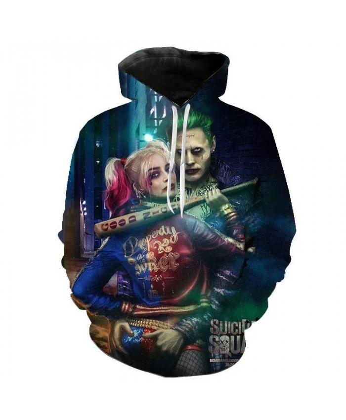 Novelty clown 3D hoodie Men Joker Poker hoodies sweatshirts Funny sweatshirt Hip Hop Mens Clothes hoodies 2021 Tops Boys Girls