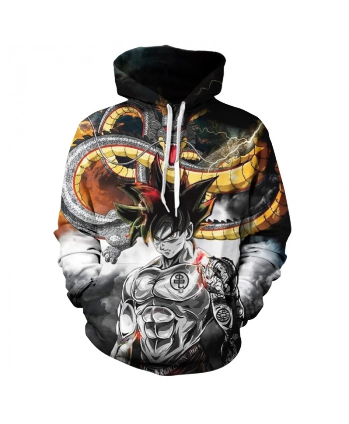 2021 Autumn New Men And Women 3d Printing Hoodie Children Cartoon Animation Fashion Casual Hip-Hop Pullover Coat