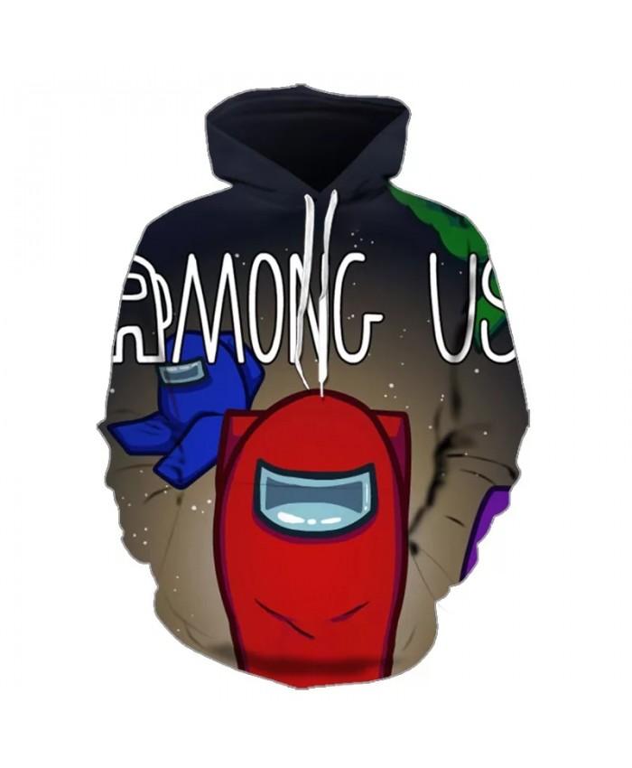 Game Among Us Hoodie 2021 Oversized Hoodies Harajuku Hooded Sweatshirt Crewneck Pullover Tracksuit Sudaderas  Streetwear
