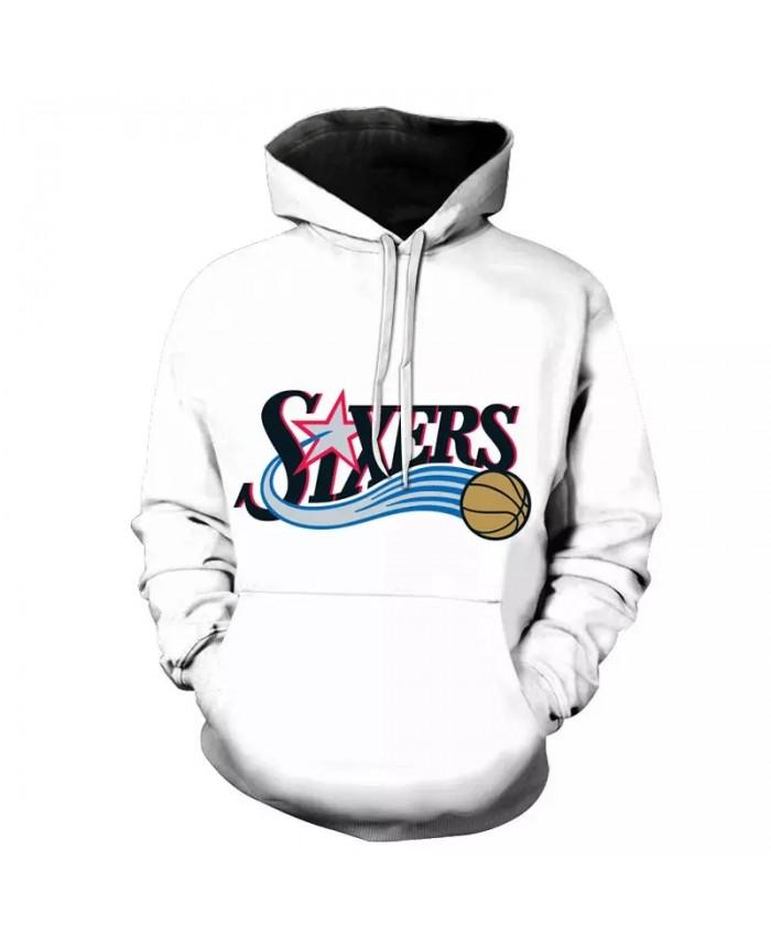 All-Star Basketball Hoodie Men Women's Hooded Sweatshirt 3D Printing Hooded Sportswear Pullover Men's Clothing Street Wear