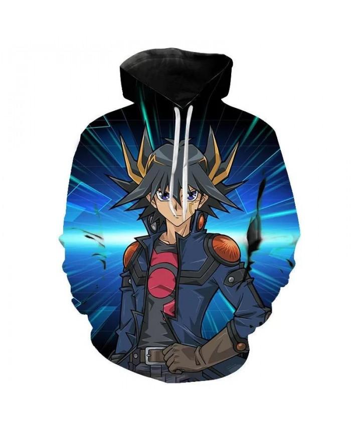 New Hoodies Yu Gi Oh Men Women Children 3D Printed Fashion Cartoon Anime Sweatshirts Boy Girl Kids Hooded Pullover Coat