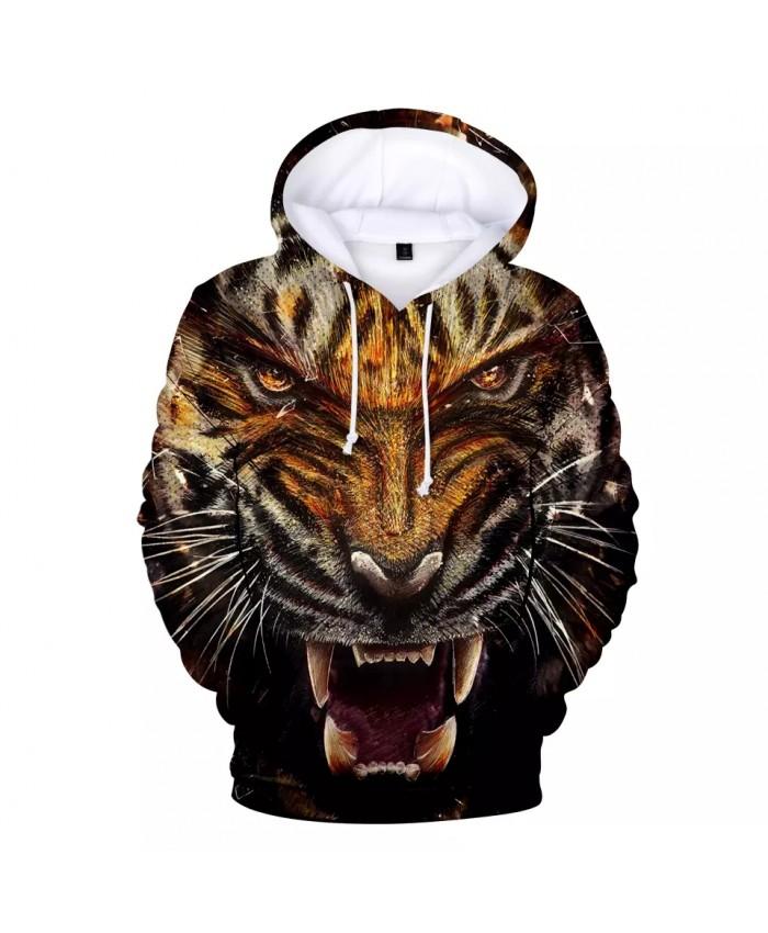 KPOP Hot 3D Hoodie animal tiger Hoodie Sweatshirt Popular Idol Team Jacket Hoodie Spring Autumn Casual Wear coat XXS-4XL clothes