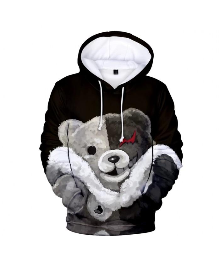 Cute Monokuma 3D Hoodies Men Women Sweatshirts Fashion Hooded Hot Autumn 3D print Anime monokuma boys girls Hoodie pullovers