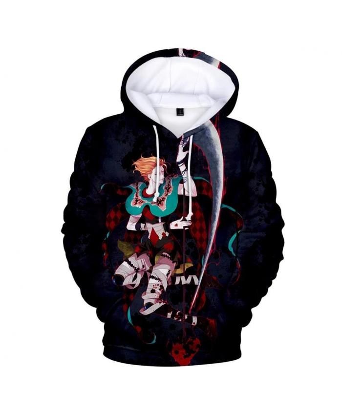 Casual 3D Hisoka Hoodies Sweatshirts Men Women Hoodie New Fashion Autumn black Hooded Kids 3D Comic Hisoka boys girls pullovers