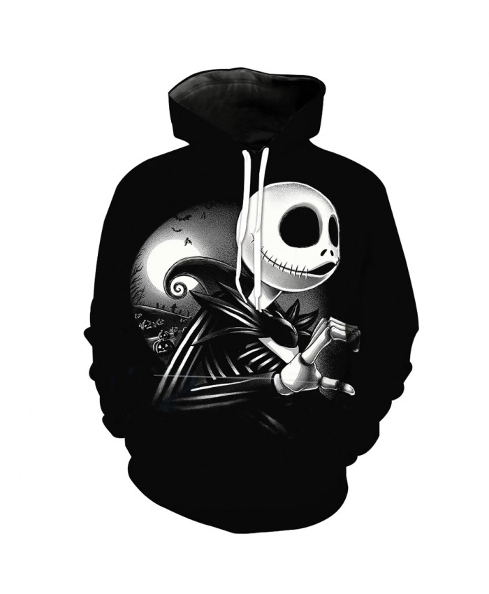 Men's Fashion 3D Hoodie Elegant Muppet Lady Print sweatshirts