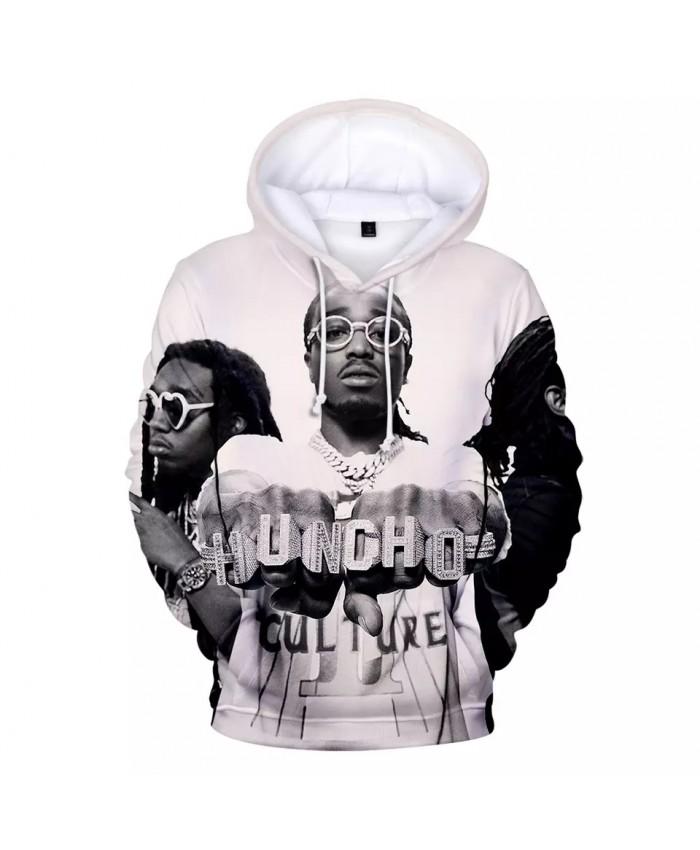 Band Migos Hoodie Men Women Sweatshirt Hip hop Streetwear Migos 3D Print Funny Hoodies Kids Size pullover Warm Oversized