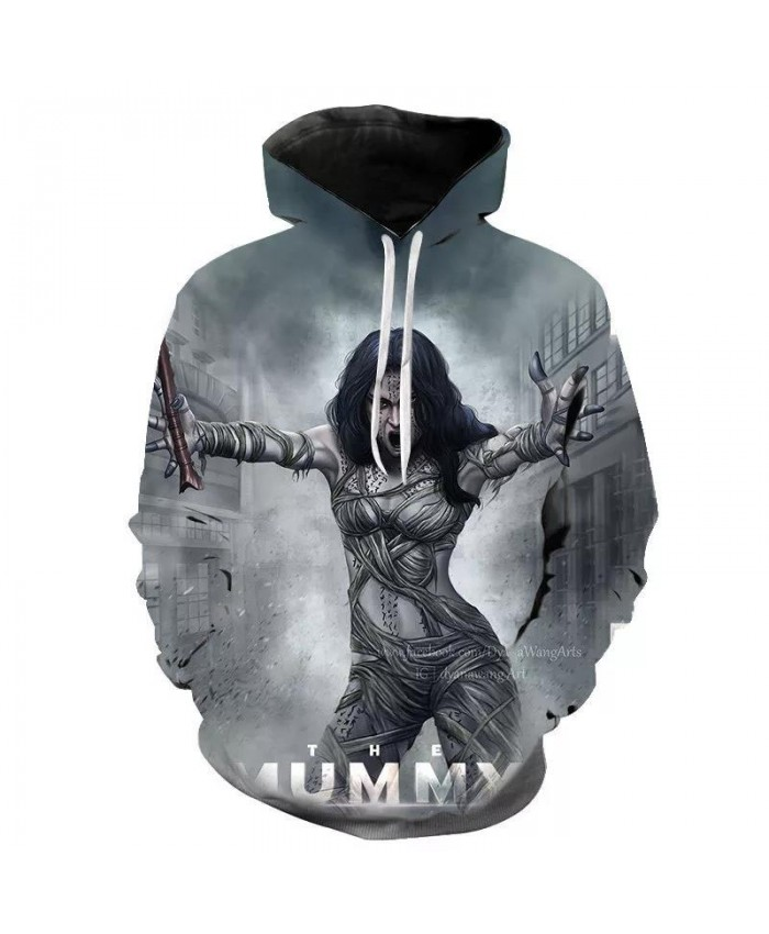 2021 New 3D Hoodies Men Women Children Cool Mummy Printed Sweatshirts Spring Autumn Casual Hoodie Kids Boy Girl Pullover Hoody