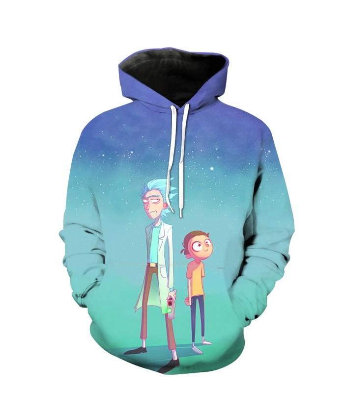 Cartoon World Fashion Men's 3D Hooded Sweatshirt
